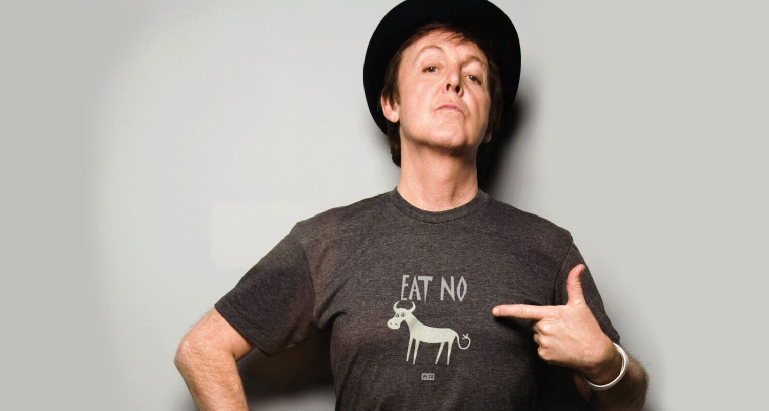 Sir Paul McCartney, Founder of Meat Free Monday