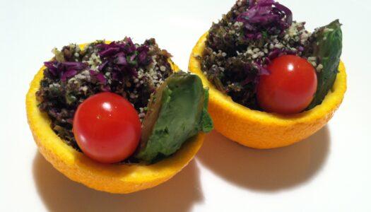 Gourmet Raw Orange Salad