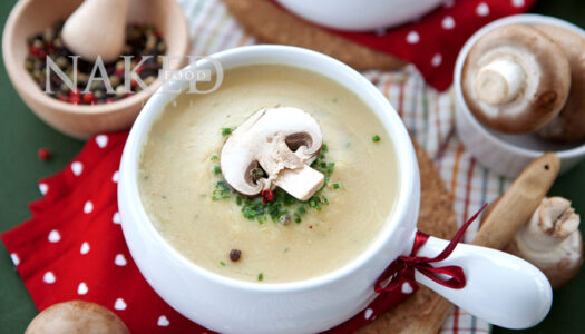 Naked Recipe: Mushroom Bisque