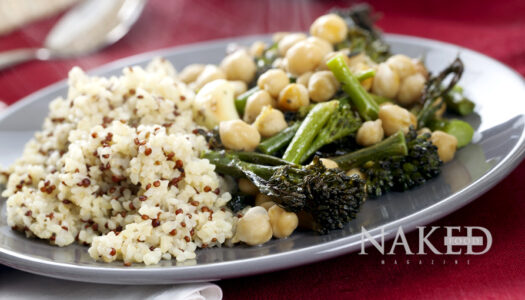 Naked Recipe: Bulgur + Garbanzo Flair