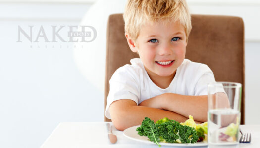 Kids + Kale – And ways to make them love it