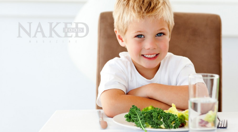 Kids + Kale - And ways to make them love it