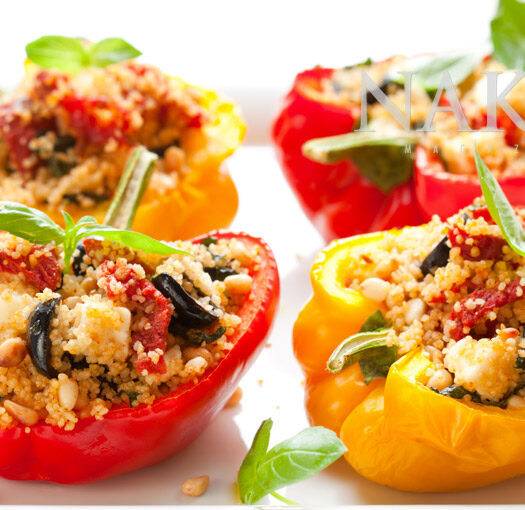 Stuffed Peppers | NakedFoodMagazine.com