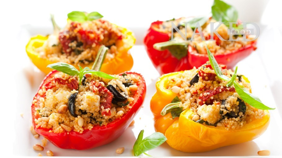 Stuffed Peppers @ NakedFoodMagazine.com