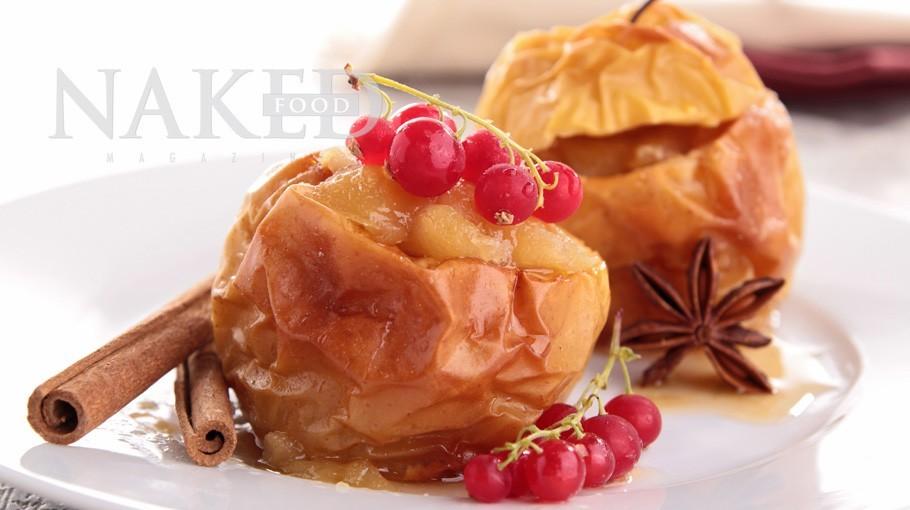 Naked Recipe: Baked Naked Apples