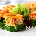 Zucchini Rice Tapas @NakedFoodMagazine.com