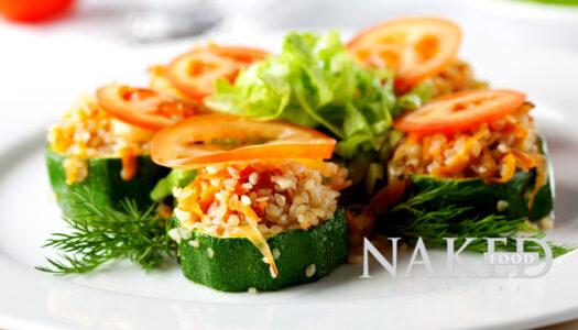 Zucchini + Brown Rice Summer Tapas