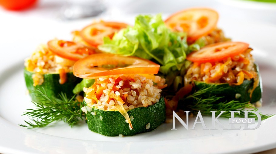 Naked Recipe: Zucchini + Brown Rice Summer Tapas