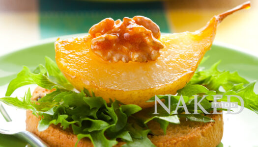 Naked Recipe: Caramelized Pears
