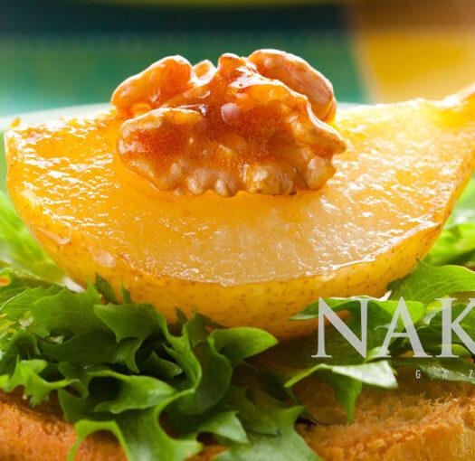 Naked Recipe: Caramelized Pears @ Naked Food Magazine