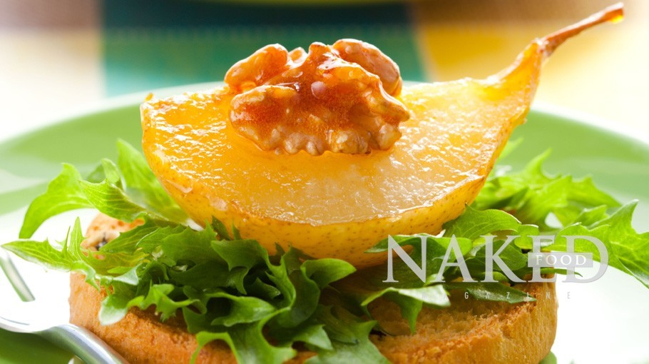 Naked Recipe: Caramelized Pears @ Naked Food Magazine