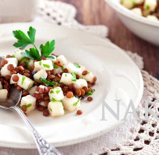 Naked Recipe: Lentil Pear Dip @ Naked Food Magazine
