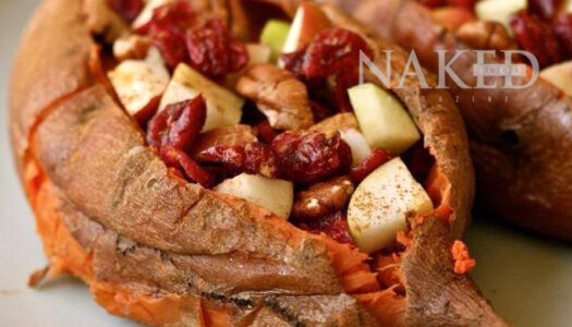 Naked Recipe: Stuffed Sweet Potatoes