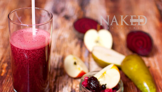 Naked Smoothie: Cancer Crusher Goodness