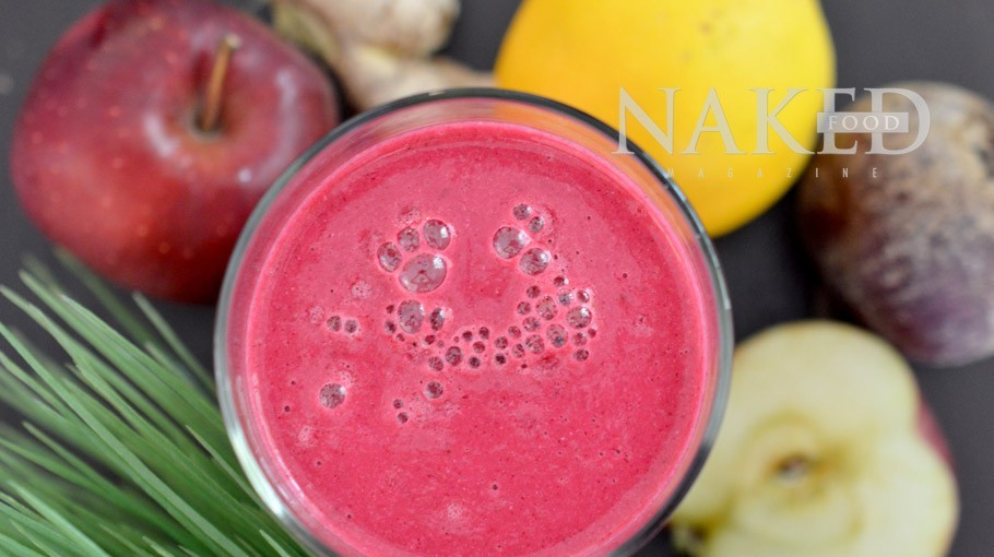 Naked Smoothie: Pink Power @ Naked Food Magazine
