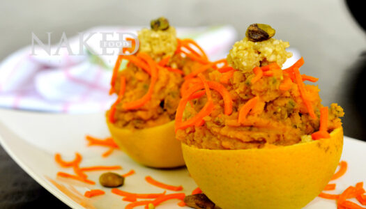 Naked Recipe: Sweet Potato Oranges
