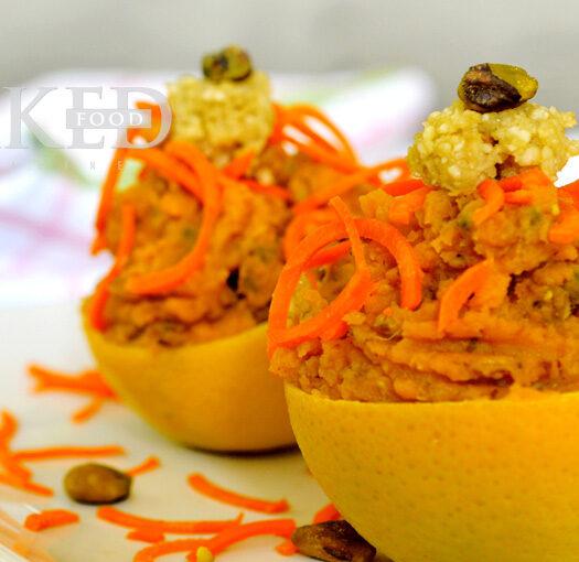 Naked Recipe: Sweet Potato Oranges - Naked Food Magazine