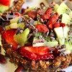 Berry fruit tarts + Chia seeds | Naked Food Magazine