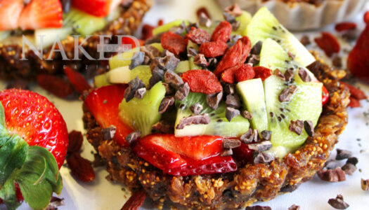 Berry Fruit Tarts With Chia