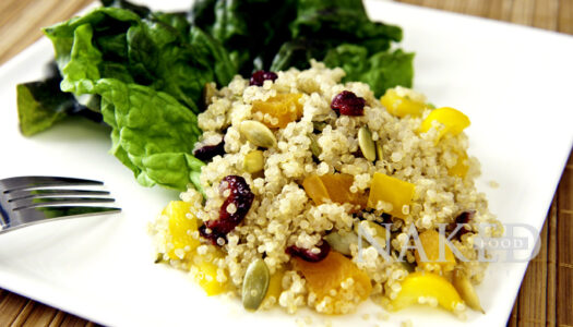 Naked Friday Recipe: Anti-cancer Hawaiian Quinoa Salad