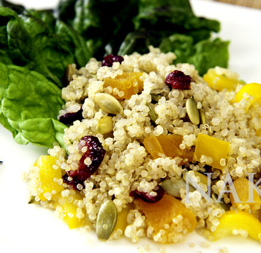 Anti-cancer Hawaiian Quinoa Salad, Naked Food Magazine