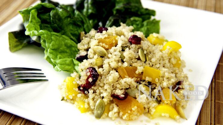 Anti-cancer Hawaiian Quinoa Salad, Naked Food Magazine