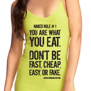 Naked Rule | Women's Cami S