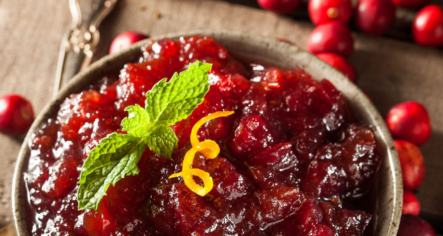 5-Minute Cranberry Relish