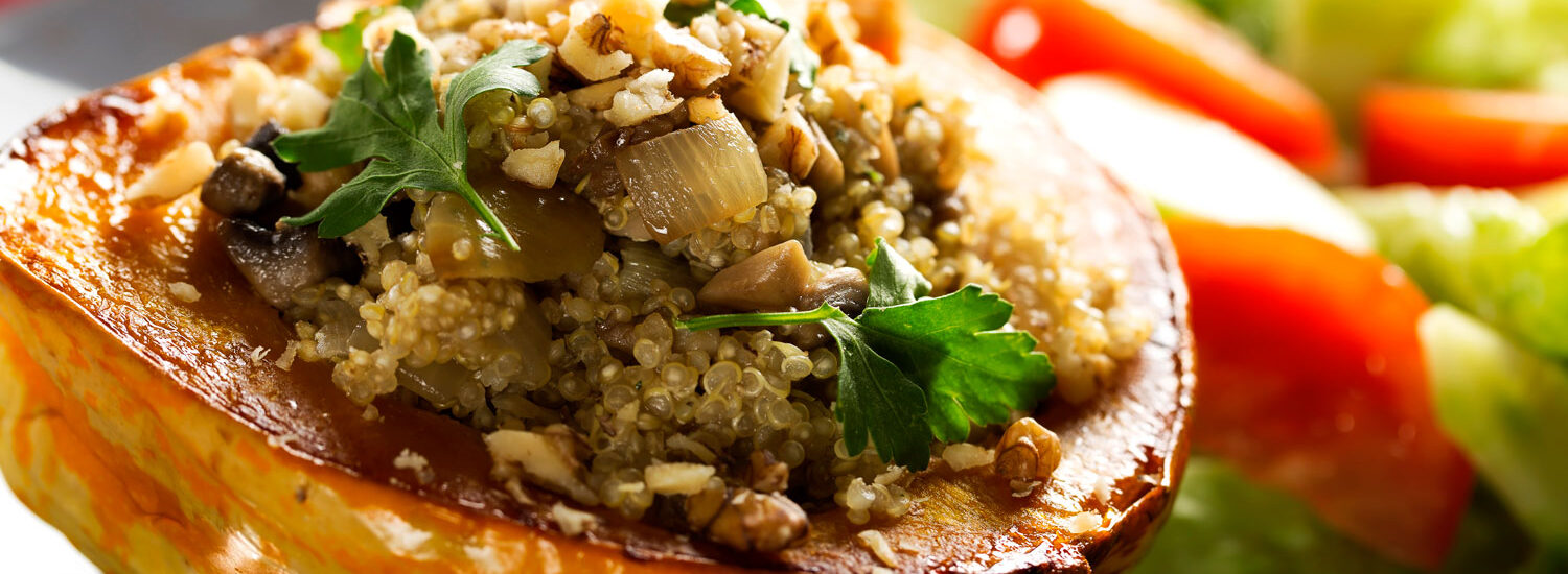 Holiday Stuffed Acorn Squash