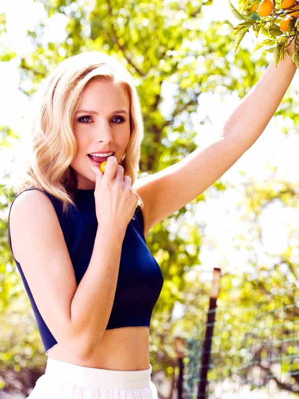 Naked Food Interview with Kristen Bell - Naked Food Magazine