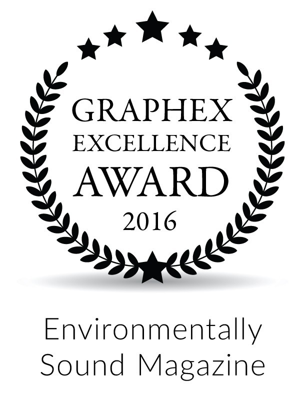 Naked Food Magazine awarded Graphex Excellence Award 2016