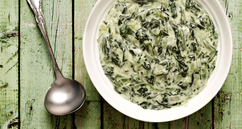 Naked Creamed Kale