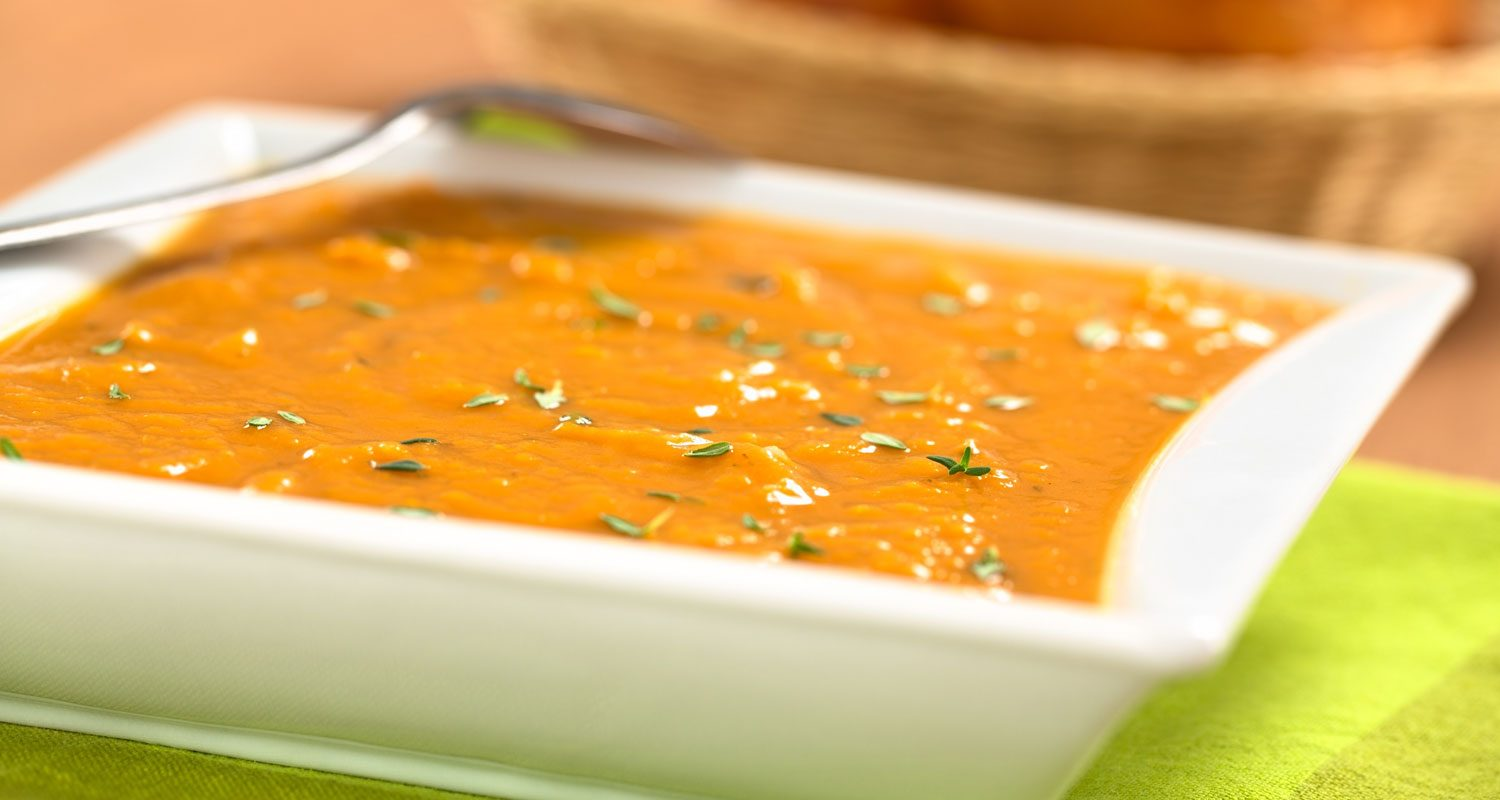 Sweet Potato Bisque