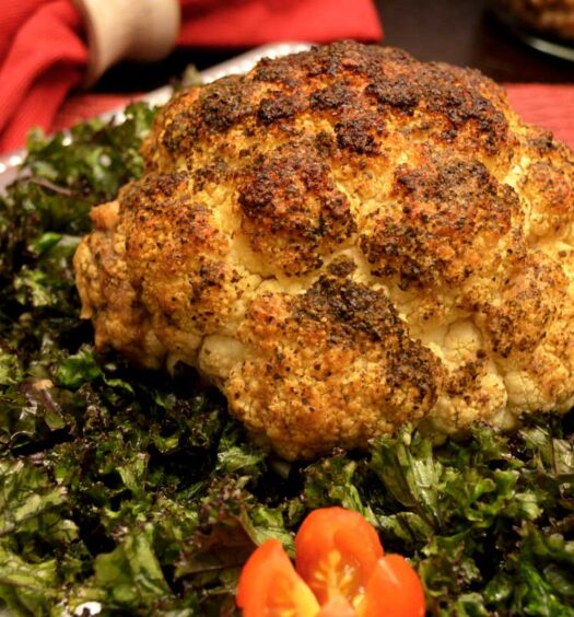 Ming's Roasted Cauliflower - Plant-based Recipes - Naked Food Magazine