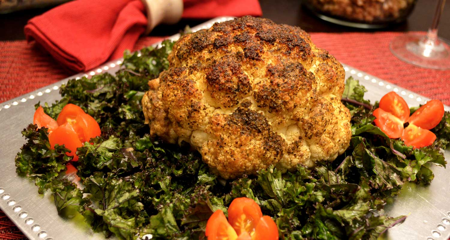 Ming's Roasted Cauliflower - Plant-based Recipes - Naked Food Magazine