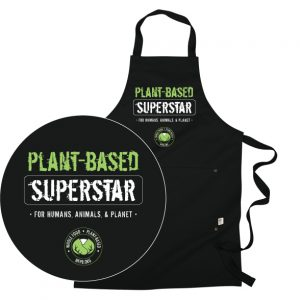 Plant-based Superstar Apron | Naked Food Magazine