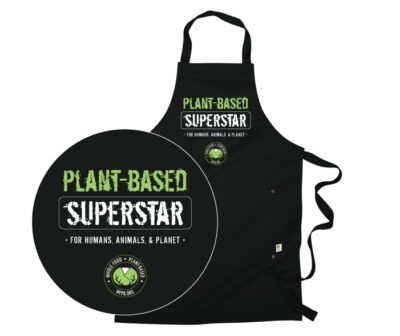 Plant-based Superstar Apron | Naked Food Magazine