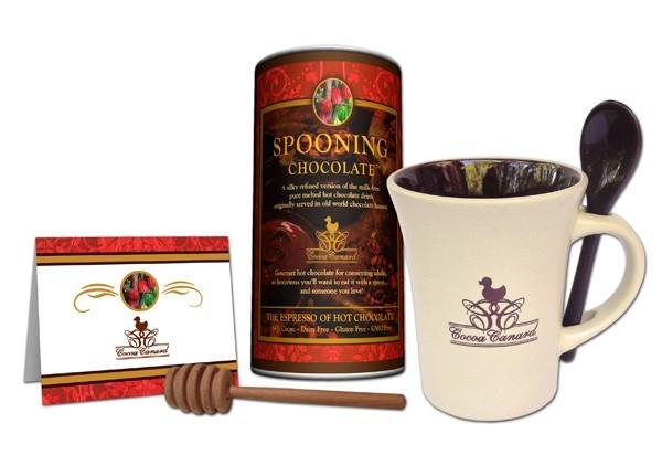 Spooning Chocolate