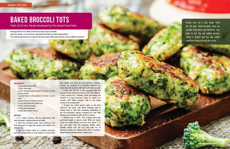 Plant-based Recipes - Naked Food Magazine Fall 2017