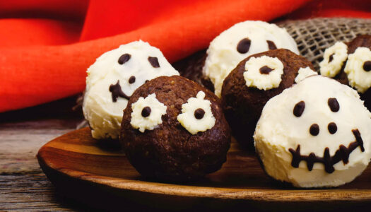 Whole-oween Mummy Truffles