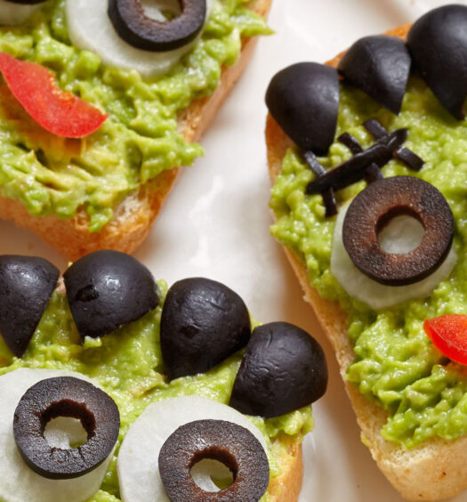 Halloween Franken Tapas: Halloween Franken Tapas: Plant-based, vegan, gluten-free, oil-free, salt-free recipe | Naked Food Magazine