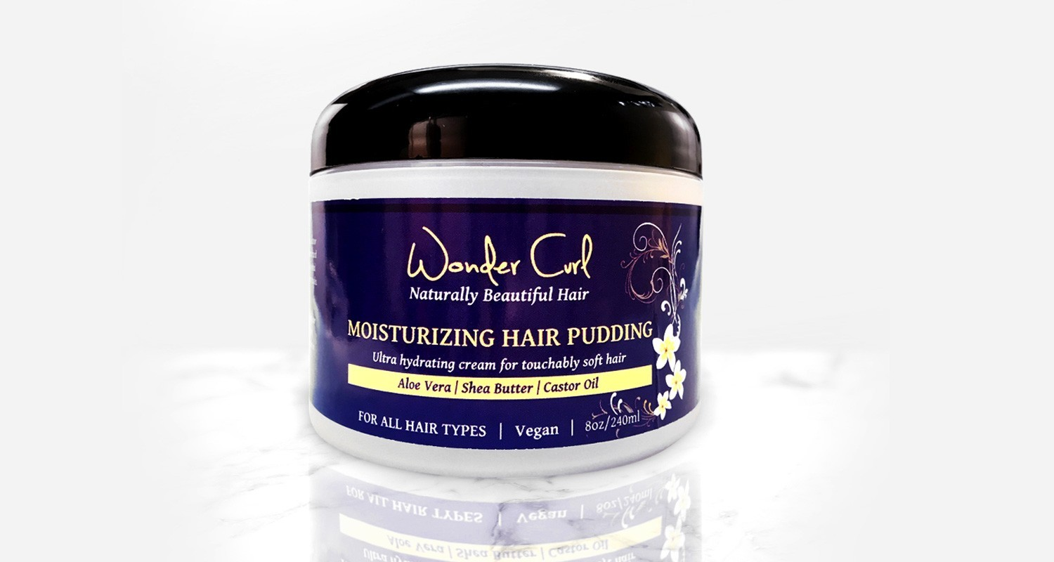 Moisturizing Hair Pudding, Wonder Curl | Holiday Gift Guide2017 | Naked Food Magazine