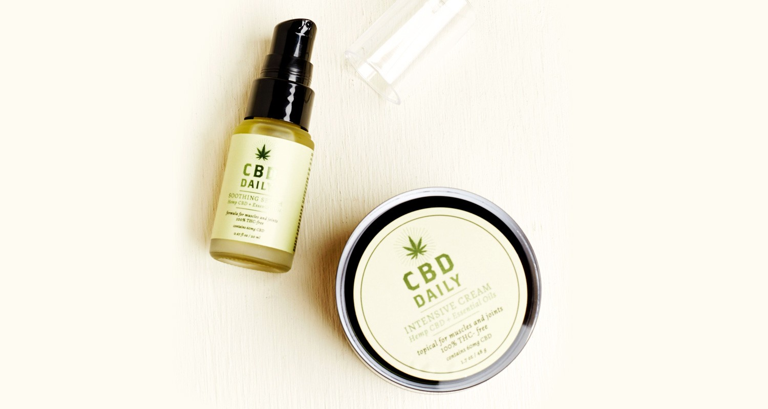 CBD Daily Concentrated Cream & Daily Soothing Serum | Holiday Gift Guide2017 | Naked Food Magazine