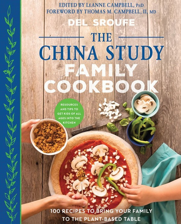 The China Study Family Cookbook | Holiday Gift Guide2017 | Naked Food Magazine