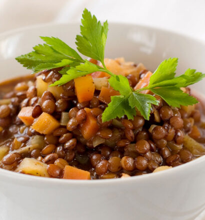 Naked Lentil Chili - Plant-based Recipes - Naked Food Magazine