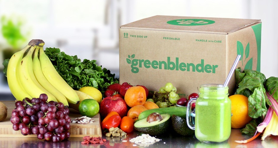 Greenblender Box | Holiday Gift Guide2017 | Naked Food Magazine