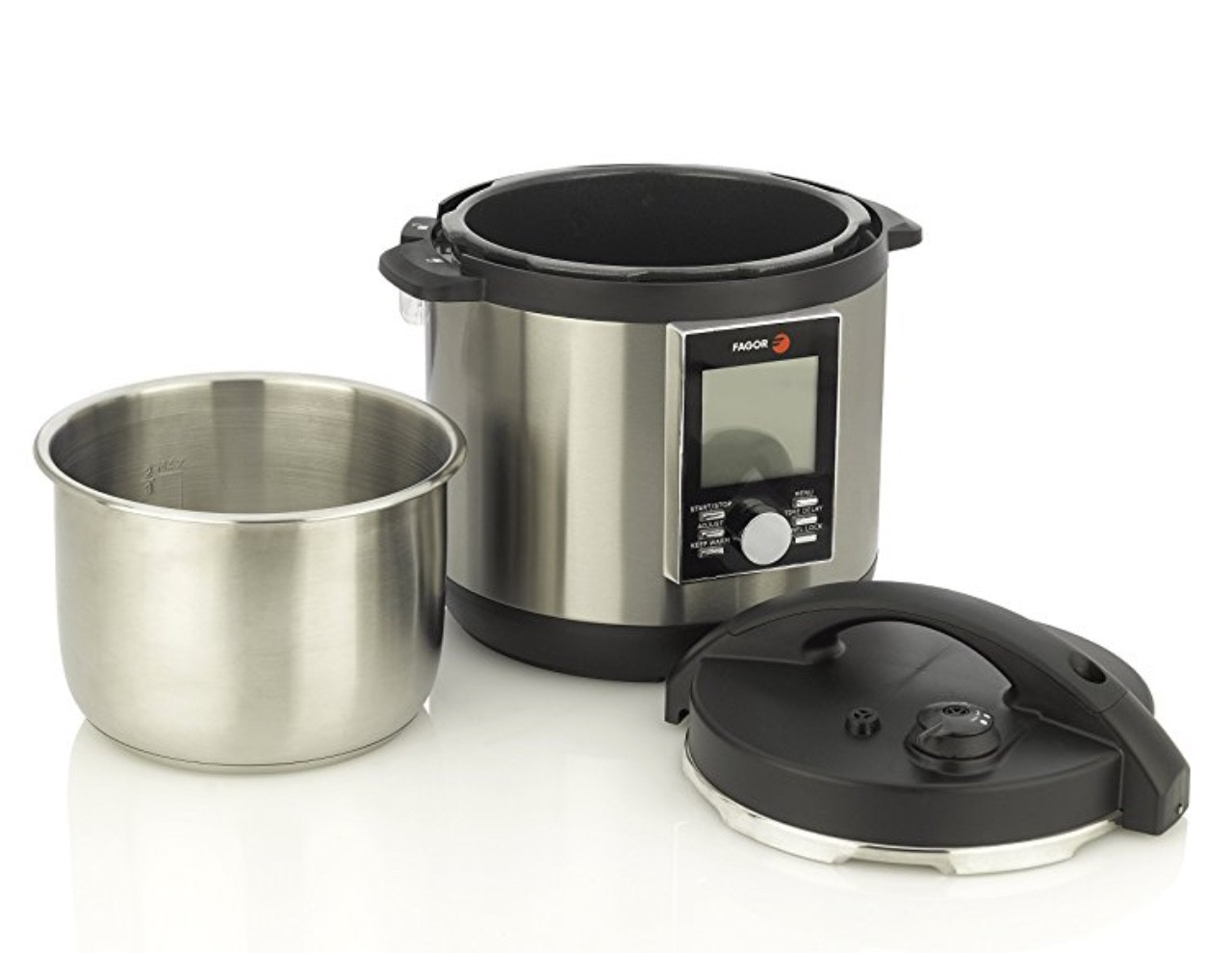 Fagor LUX LCD Multi-Cooker | Holiday Gift Guide2017 | Naked Food Magazine