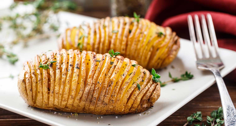 Holiday Hasselback Potatoes - Naked Food Magazine-1064