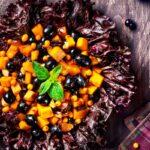 Holiday Squash & Berry Salad | Holiday Plant-based Vegan Recipes | Naked Food Magazine