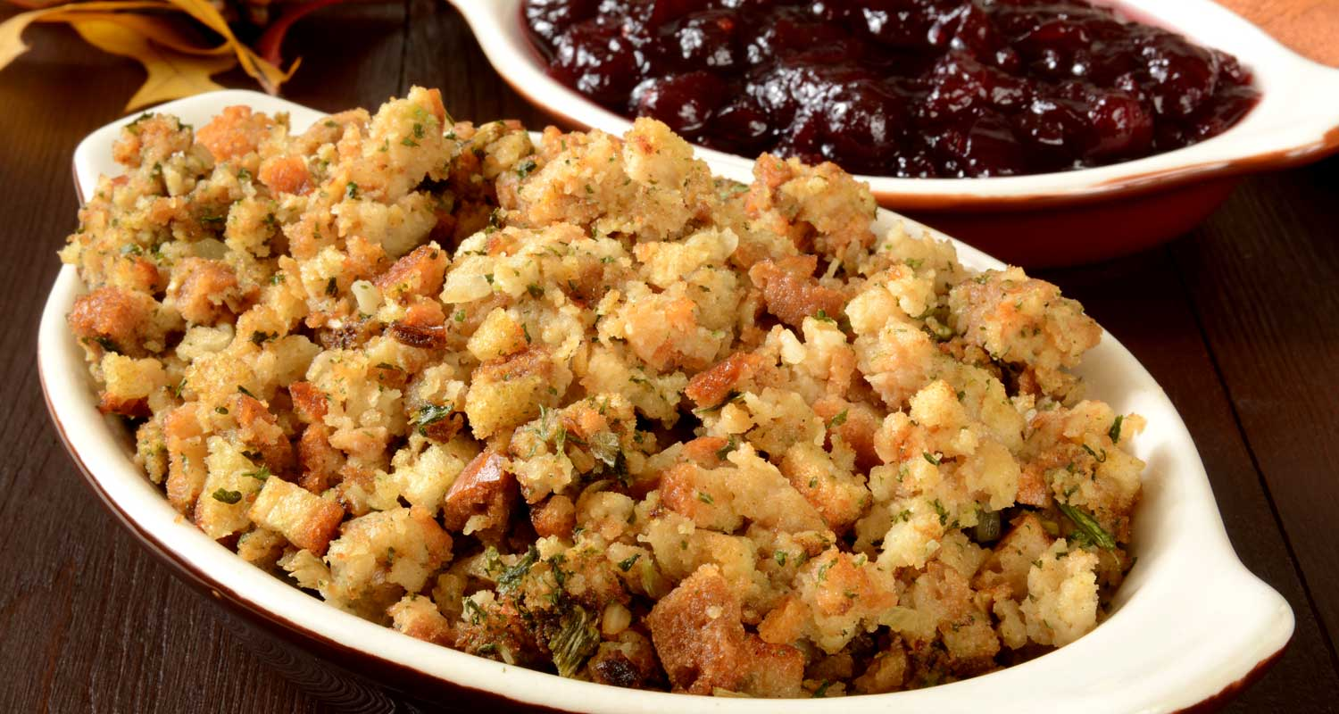 Holiday Stuffing a la Naked